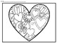 Valentine's Day Heart Art for Fourth