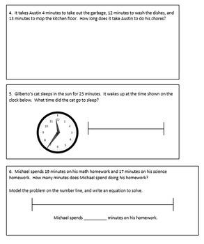 Fourth Grade Homework Packet, Quarter 1 Week 1 (Based on Eureka Math)