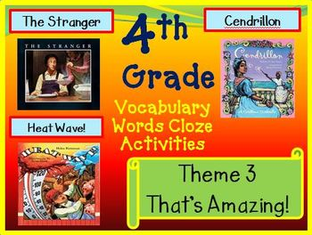 Houghton Mifflin Reading 4th Grade Theme 3 Worksheets