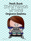 Fourth Grade Information Writing Conference Prompts