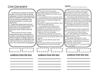 Fourth Grade Interactive Emergency Sub Plans (ELA ONLY) CCSS aligned