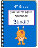 Fourth Grade Interactive Math Notebook Bundle