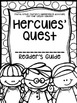 Fourth Grade Journey's Activities: Hercules' Quest (Lesson 18)