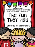 Fourth Grade Journey's Activities: The Fun They Had (Lesson 25)