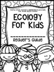 Fourth Grade Journey's Supplemental Activities: Ecology fo