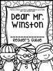 Fourth Grade Journey's Supplemental Activities: Dear Mr. Winston