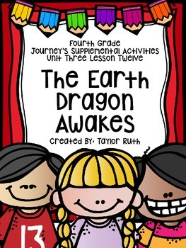 Fourth Grade Journey's Supplemental Activities:The Earth D