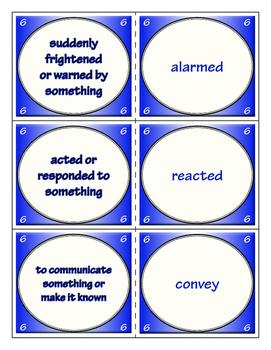 Fourth Grade Journeys Unit 2 Vocabulary Flashcards