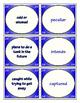 Fourth Grade Journeys Unit 6 Vocabulary Flashcards