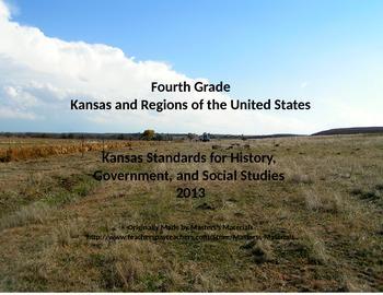Fourth Grade Kansas Social Studies Standards Organizer