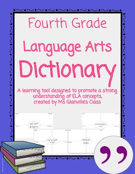 Fourth Grade Language Arts Dictionary
