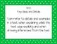 Fourth Grade Language Arts Polka Dot I Can Statements