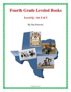 Fourth Grade Leveled Books:  Level Q - Set 3