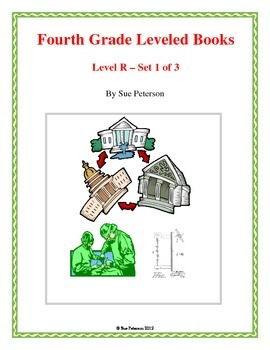 Fourth Grade Leveled Books:  Level R - Set 1
