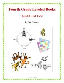 Fourth Grade Leveled Books:  Level R - Set 2