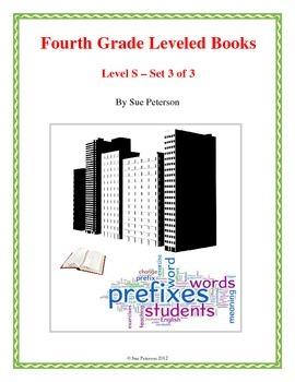 Fourth Grade Leveled Books:  Level S - Set 3