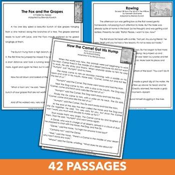 Fourth Grade Literature Standards Practice Bundle