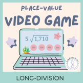 Fourth Grade Long Division Worksheets and Video Game