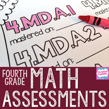 Fourth Grade Math Assessments - Common Core Math Assessments
