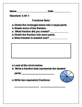Fourth Grade Math Assessments