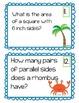 Fourth Grade Math CCSS Review:  Math Hunt (Summer Theme)