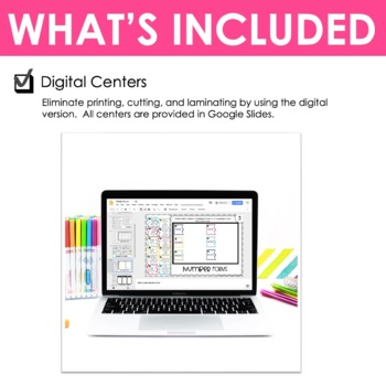 Fourth Grade Math Centers Division ~ Digital for Google Classroom