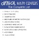 Fourth Grade Math Centers Fractions ~ Digital for Google Classroom