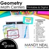 Fourth Grade Math Centers Geometry ~ Digital for Google Classroom