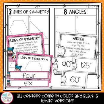 Fourth Grade Math Centers Growing Bundle