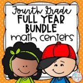 Fourth Grade Math Centers Bundle
