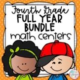 Fourth Grade Math Centers Bundle