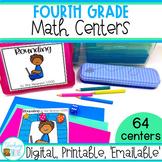 Fourth Grade Math Centers   Digital and Print