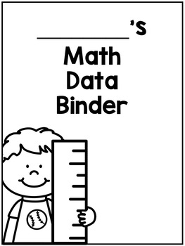 Fourth Grade Math Data Binder For Google Classroom or Paper