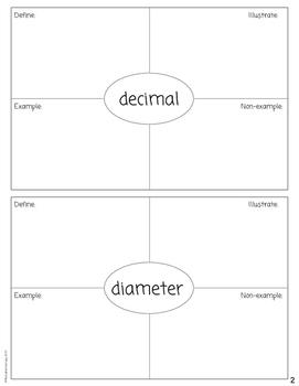 Fourth Grade Math Dictionary