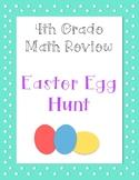 Fourth Grade Math Easter Egg Hunt