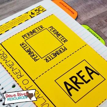 Fourth Grade Math Interactive Notebook: Algebraic Reasoning (TEKS)