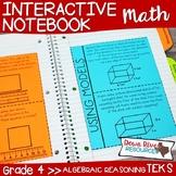 Fourth Grade Math Interactive Notebook: Algebraic Reasonin