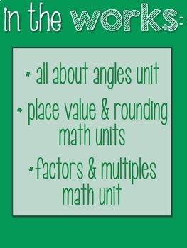 Fourth Grade Math MEGA Bundle