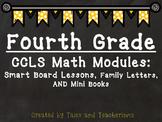 2014Fourth Grade Math Module Smart Board Lessons, Family Letters, and Mini Books