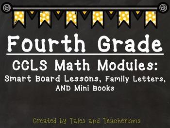 2014Fourth Grade Math Module Smart Board Lessons, Family L