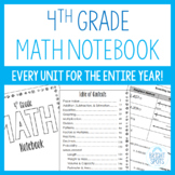 Fourth Grade Math Notebook