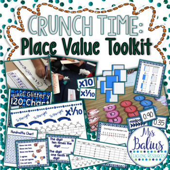 Fourth Grade Math Place Value Toolkit TEKS & CCSS Aligned