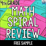 Fourth Grade Math Review: 6 FREE Worksheets