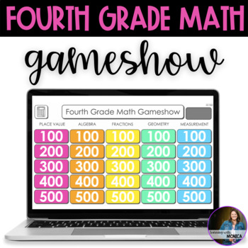 Fourth Grade Math Review Gameshow