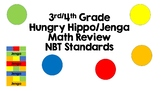 Third and Fourth Grade Math Review NBT Standards Hungry Hippo