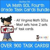 Fourth Grade Math SOL Task Cards