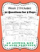 Fourth Grade Math Spiral Review, Quarter 2
