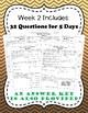 Fourth Grade Math Spiral Review, Quarter 3