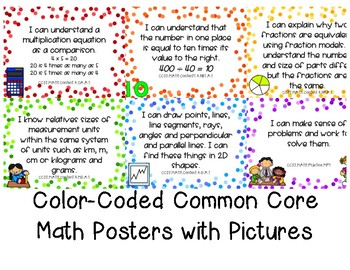Fourth Grade Math Standards