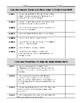 Fourth Grade Math Standards Checklist